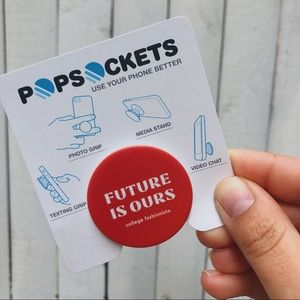 Future is ours pop socket